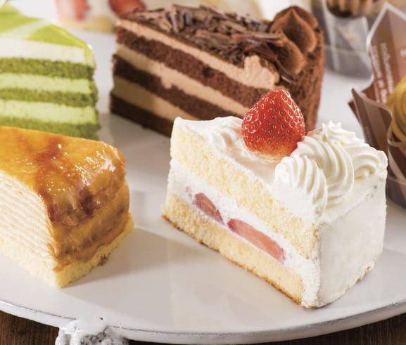 不二家ケーキ食べ放題