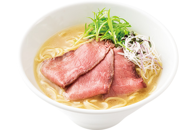 鶏白湯仕立てロービー麺