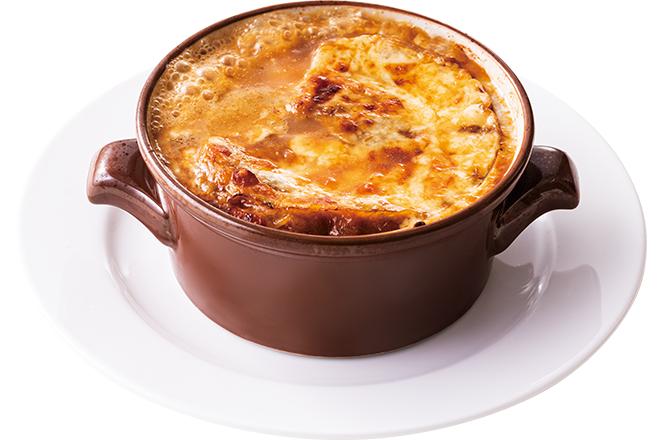 淡路産玉葱のオニオングラタンスープ