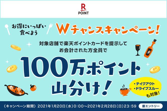 【楽天】Wチャンスキャンペーン
